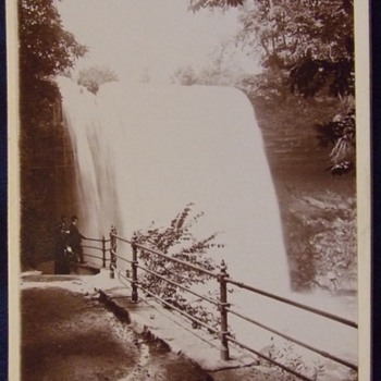 Minnehaha Falls cabinet card - Photographs