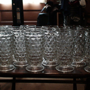 Fostoria Tumblers (16) - Glassware
