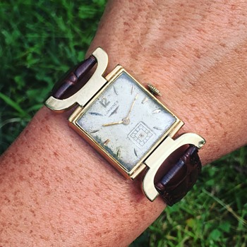 Vintage LONGINES Wrist Watch 14k Solid Gold - Wristwatches