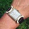 Vintage LONGINES Wrist Watch 14k Solid Gold