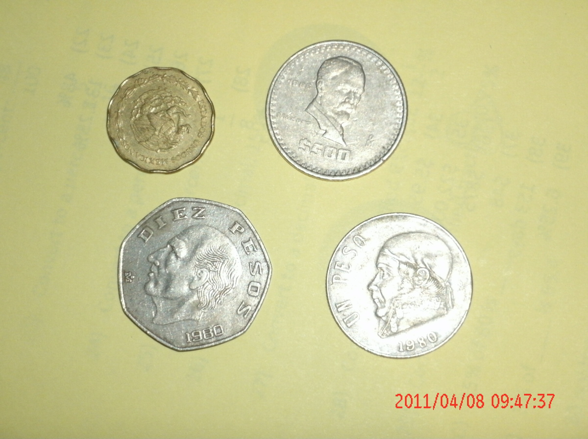 many coins from all - photo #1