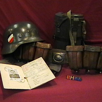 WW II German Luftwaffe Grouping - Military and Wartime