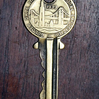 1939 World's Fair Key - Treasure Island