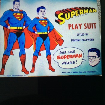 Superman Playsuit