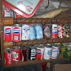  old soda can collection