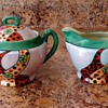 creamer/sugar bowl set