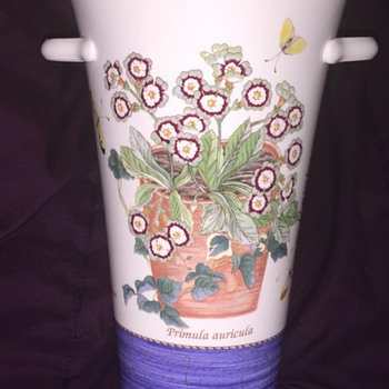 "Wedgwood ""Sarah's Garden"" vase"