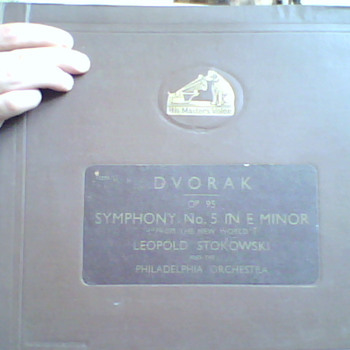 old beethoven and dvorak records