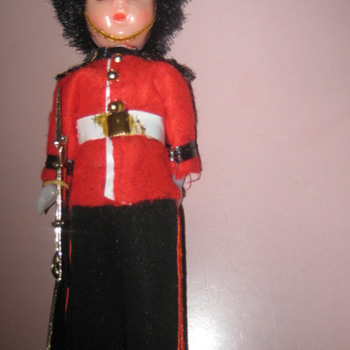 Vintage doll ornament - Dolls