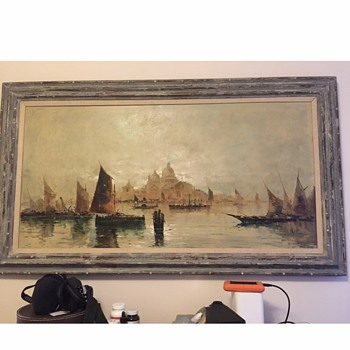 Oil Painting from Germany (?) - Visual Art