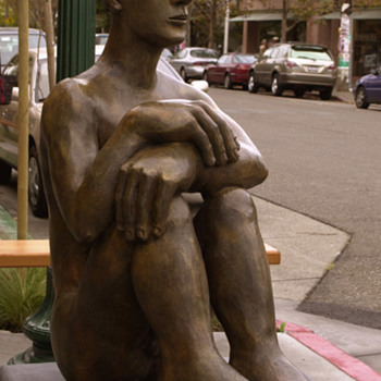 Mavis McClure bronze - Visual Art