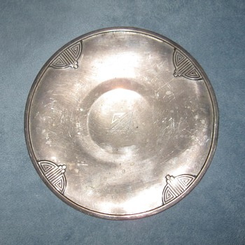 RW&S Sterling small serving plate - Sterling Silver