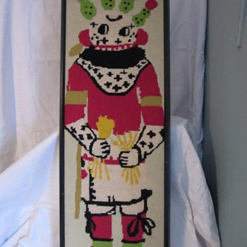 Kachina needle point - Native American