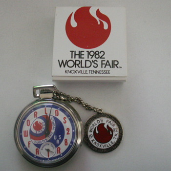 1982 World&#039;s Fair Knoxville, TN. - Pocket Watches
