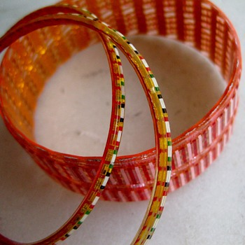 Last of the 3-D Acyrlic bangles - Costume Jewelry
