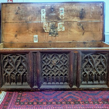 13th -14th Century German Trunk