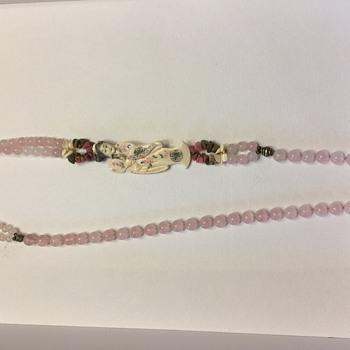 Ivory Gemstone Necklace