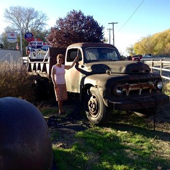 48 Ford Dump Truck