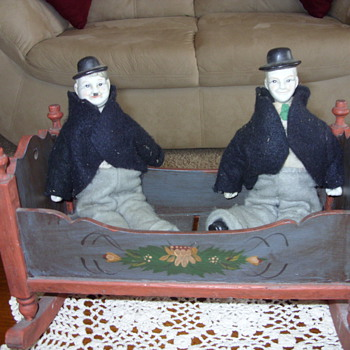 vintage laurel and hardy - Dolls