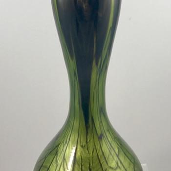 Loetz Titania Ausführung 146 Vase (makart), PN II-8650, ca. 1913 - Art Glass