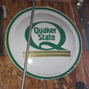 Quaker State round Sign