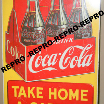 """Take Home a Carton"" Sign - Age? - Coca-Cola"