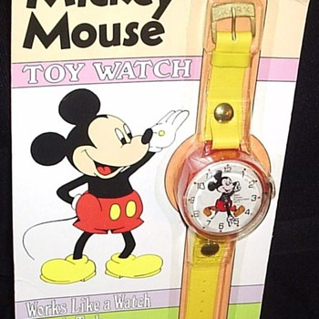 1977 Marx Toy Mickey - Wristwatches