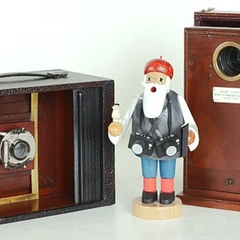 New Antique Wood Cameras for the Holidays