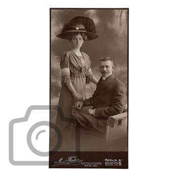 Old photographs collection: Berlin couple