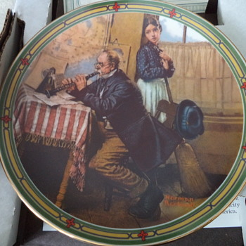 Vintage Plates from the 1980s, 1 of 2 posting - China and Dinnerware