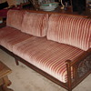 Malaysian Carved Teak Sofa