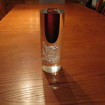 Frantisek Vizner Art Glass signed with  ?/500 (no #)