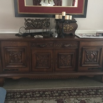Info on This sideboard/buffet