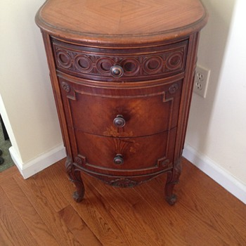 Antique Wood Cabinet - Furniture