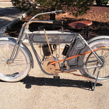 1911 Harley-Davidson 8A Single - The Original Silent Grey Fellow - Motorcycles