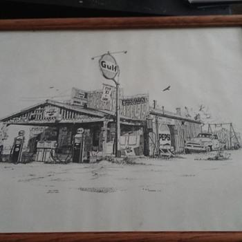 Gulf Gas Station, 1978