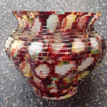 Welz small pot - Art Glass