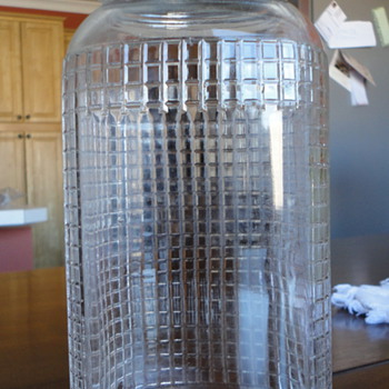Unusual Ball Packing/Hoosier Jar? - Bottles