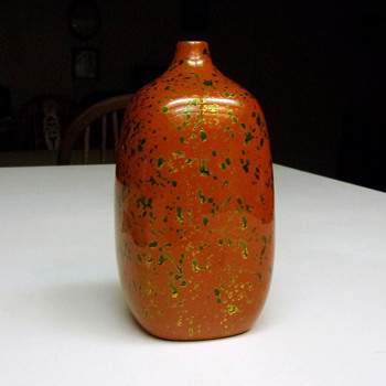 Brown, Green and Gold Pottery - Art Pottery