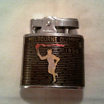 Belgrave 1956 Melbourne Olympic Games Cigarette Lighter  - Tobacciana