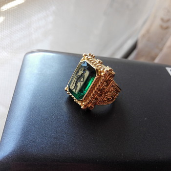 Vintage gold ring - Fine Jewelry