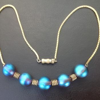 WMF Myra Krytall Glass Bead Necklace