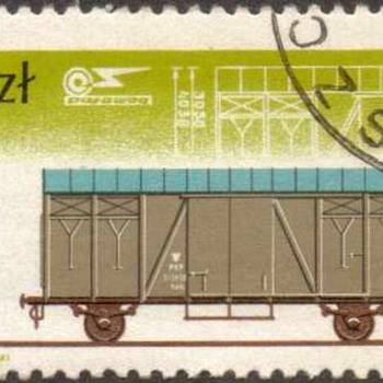 "1985 - Poland ""Pafawag Railway"" Postage Stamps"