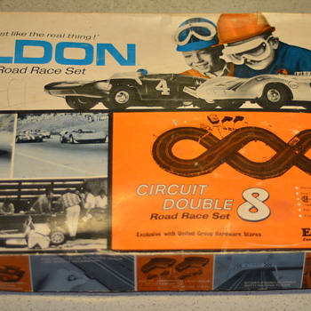 1967 Eldon Road Race set - Model Cars