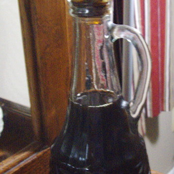 Unopened Decanter of Wine