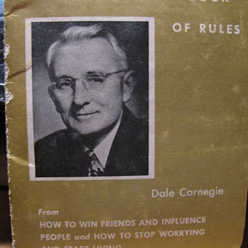 Dale Carnegie Little book of Golden Rules - Books