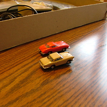 Mid 60's Aurora Slot Car Set  - Model Cars