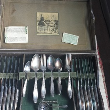 1847 Rogers Bros Silverware 50pc