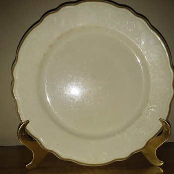 A Plate....I Mean..It Is!  lol!! - China and Dinnerware