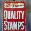 Vintage Stamps Sign 